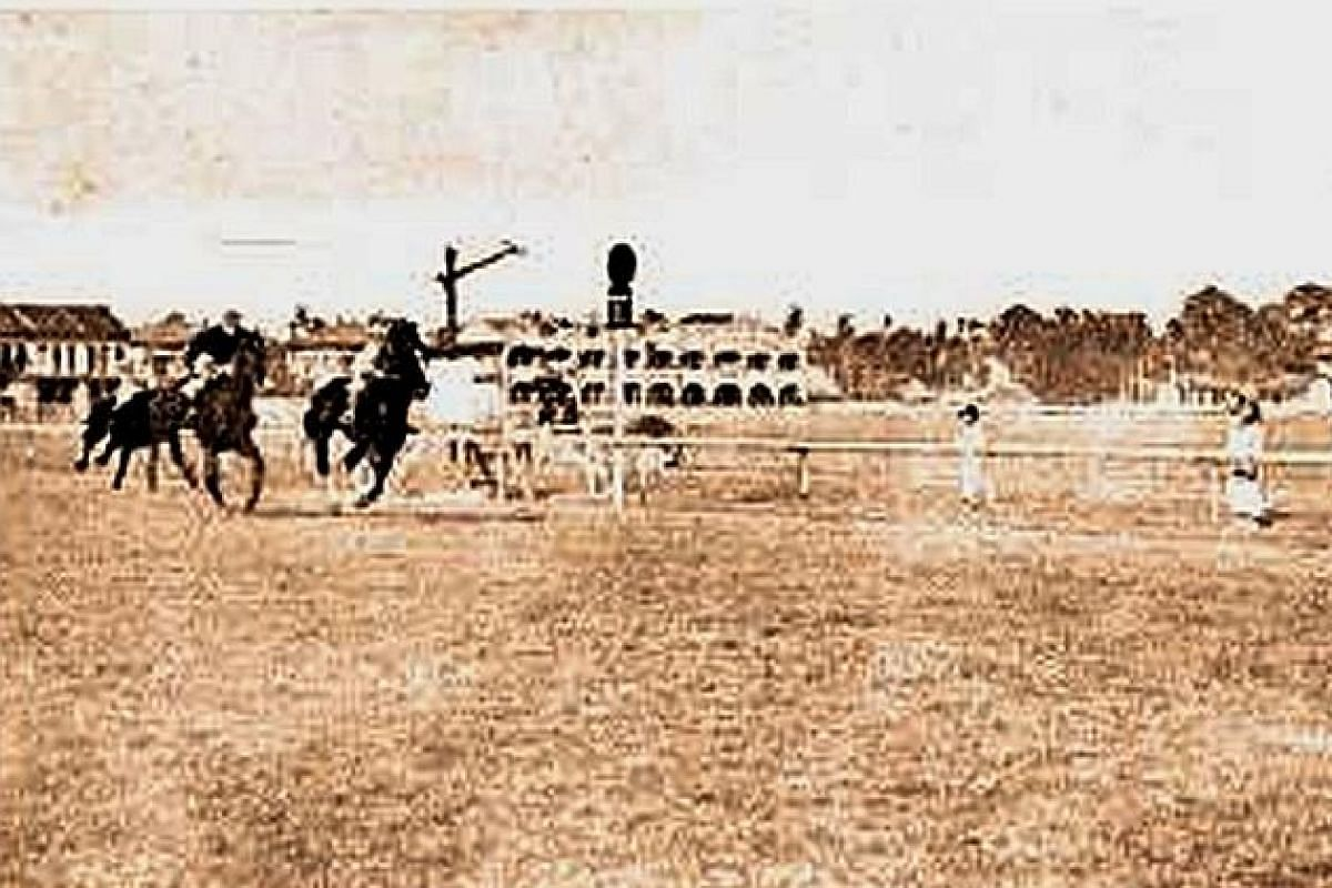 Singapore's first horse race was held on Feb 23, 1843 with a prize money of $150