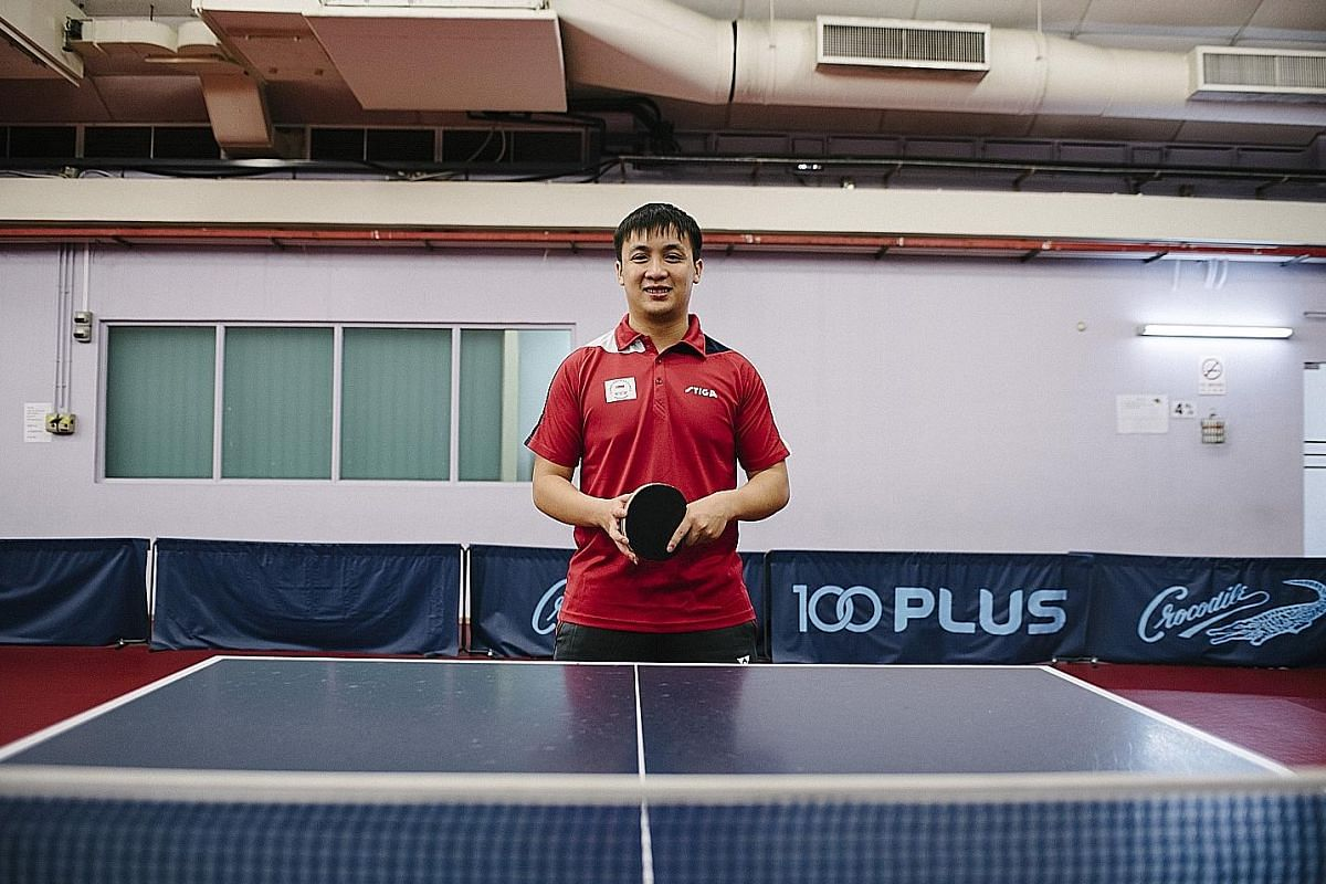 Pang Xuejie, who will play a senior role in the men's team for the Commonwealth Games, said that he has become more focused in training after completing his national service.