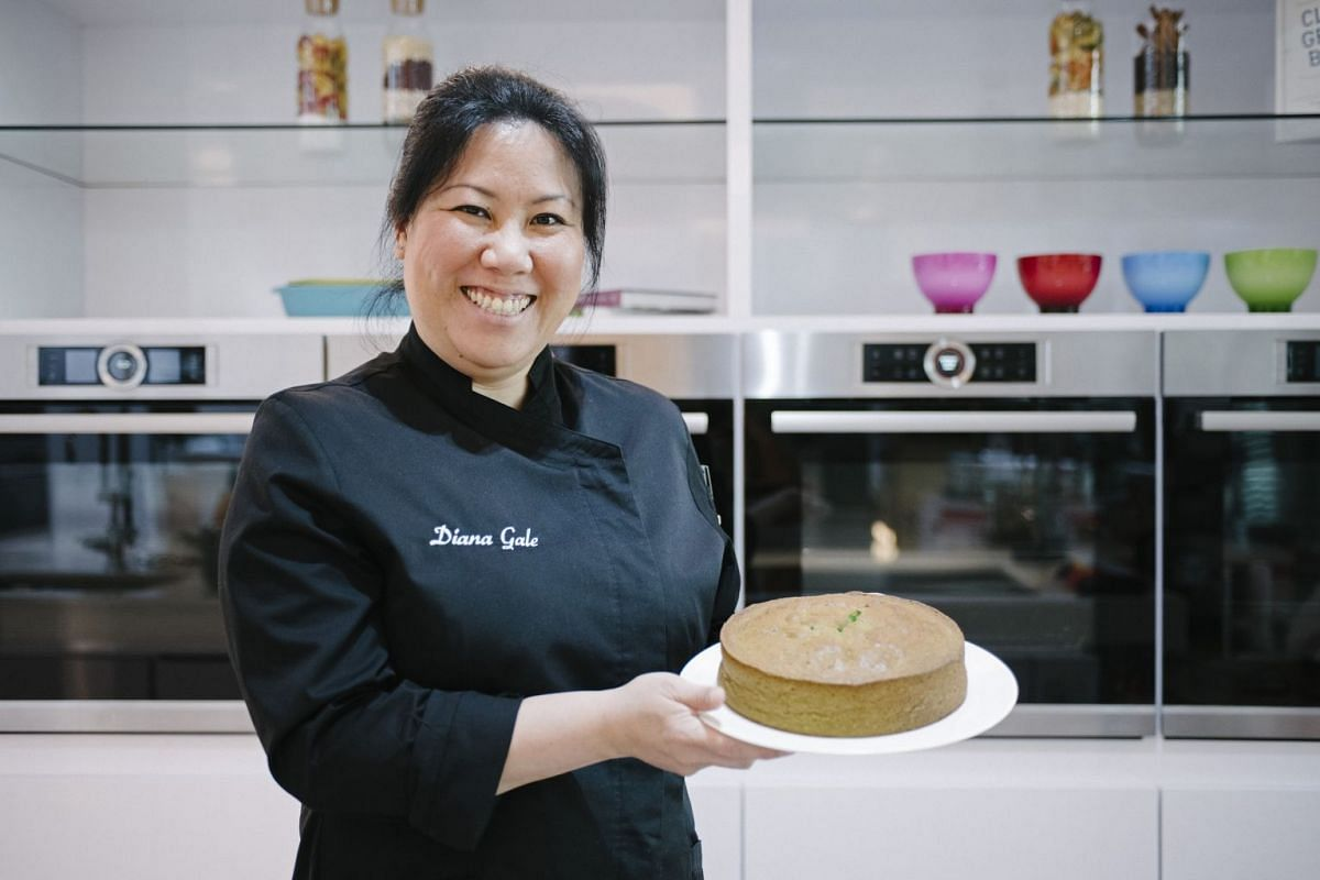 Mrs Diana Gale puts a spin on the basic butter cake to create Pandan Coconut Butter Cake.