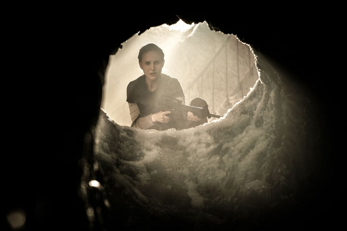Film studio Paramount opted not to give sci-fi movie Annihilation, starring Natalie Portman (above), a widespread theatrical release and sold the distribution rights to streaming service Netflix instead.