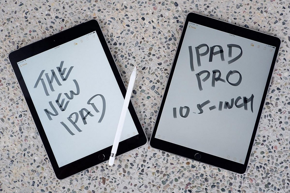 In an intensive battery test (looping a 720p video with Wi-Fi switched on and the display at full brightness), the 10.5-inch iPad Pro lasts 10 minutes longer than the new Apple iPad (2018).