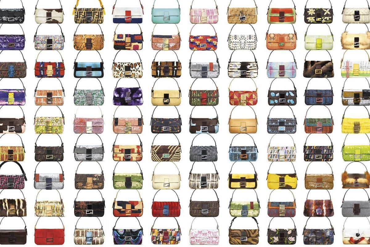 Since its debut in 1996, the Fendi Baguette - created by Silvia Venturini Fendi (below) - has had more than 1,000 iterations, fashioned in everything from floral sequins to sheared mink.