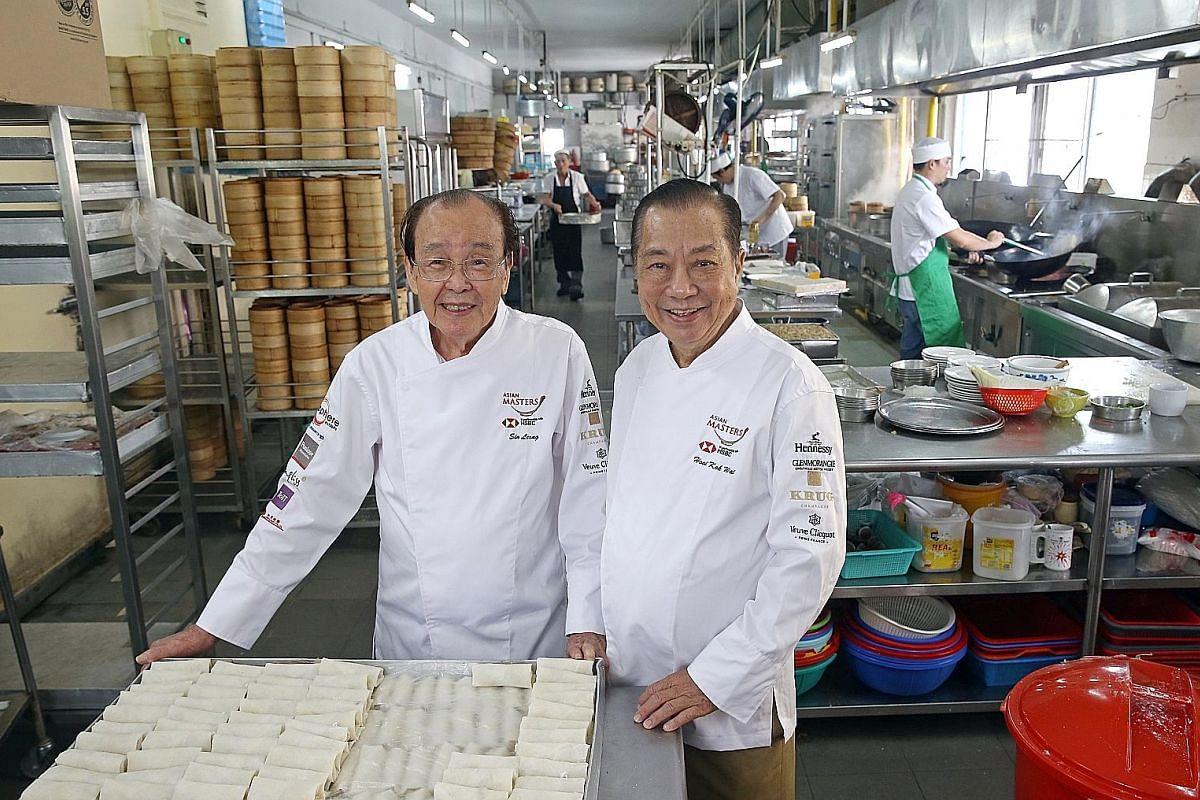 Red Star Restaurant founders Sin Leong (left) and Hooi Kok Wai.