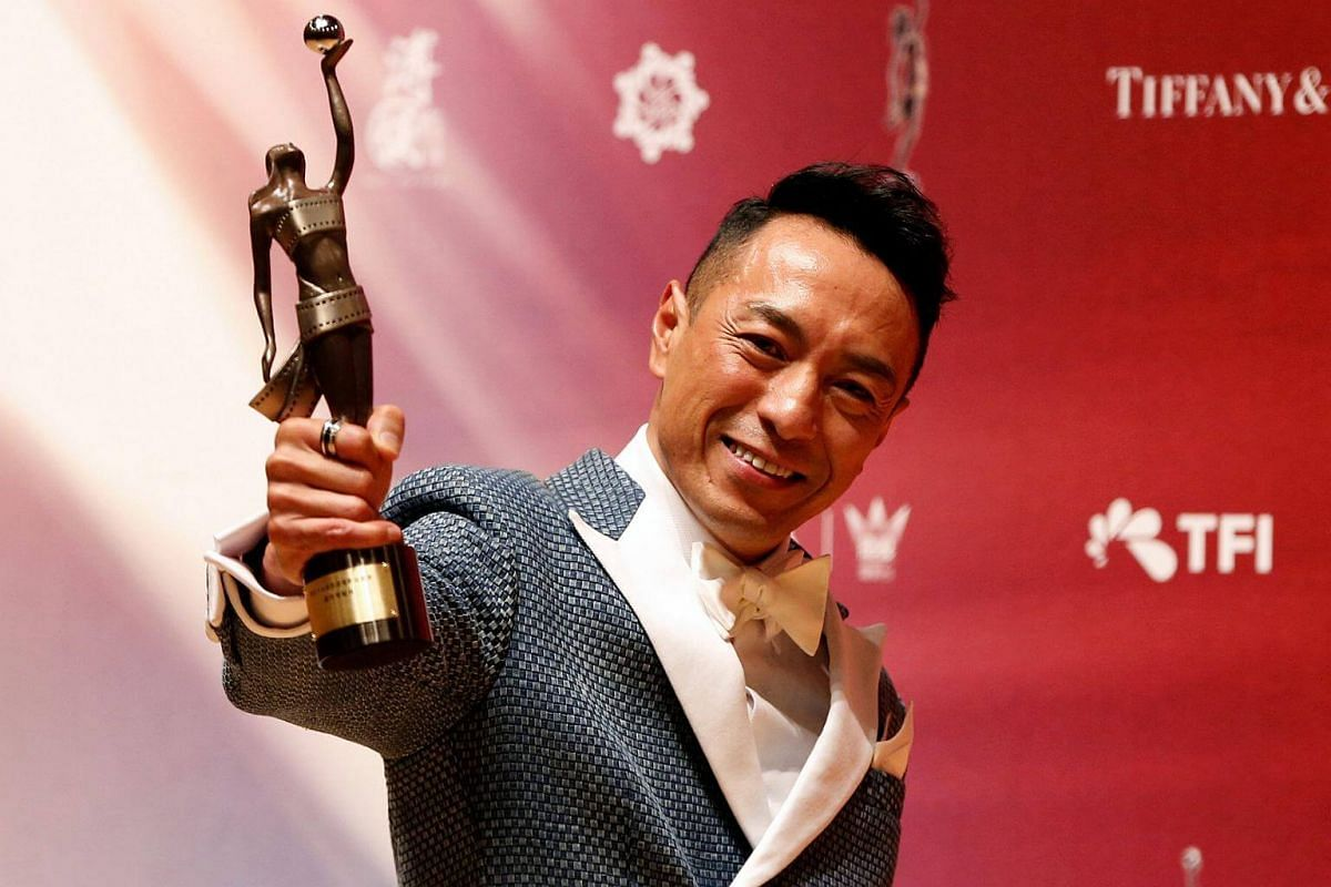 Hong Kong actor Philip Keung, who won the award for Best Supporting Actor.
