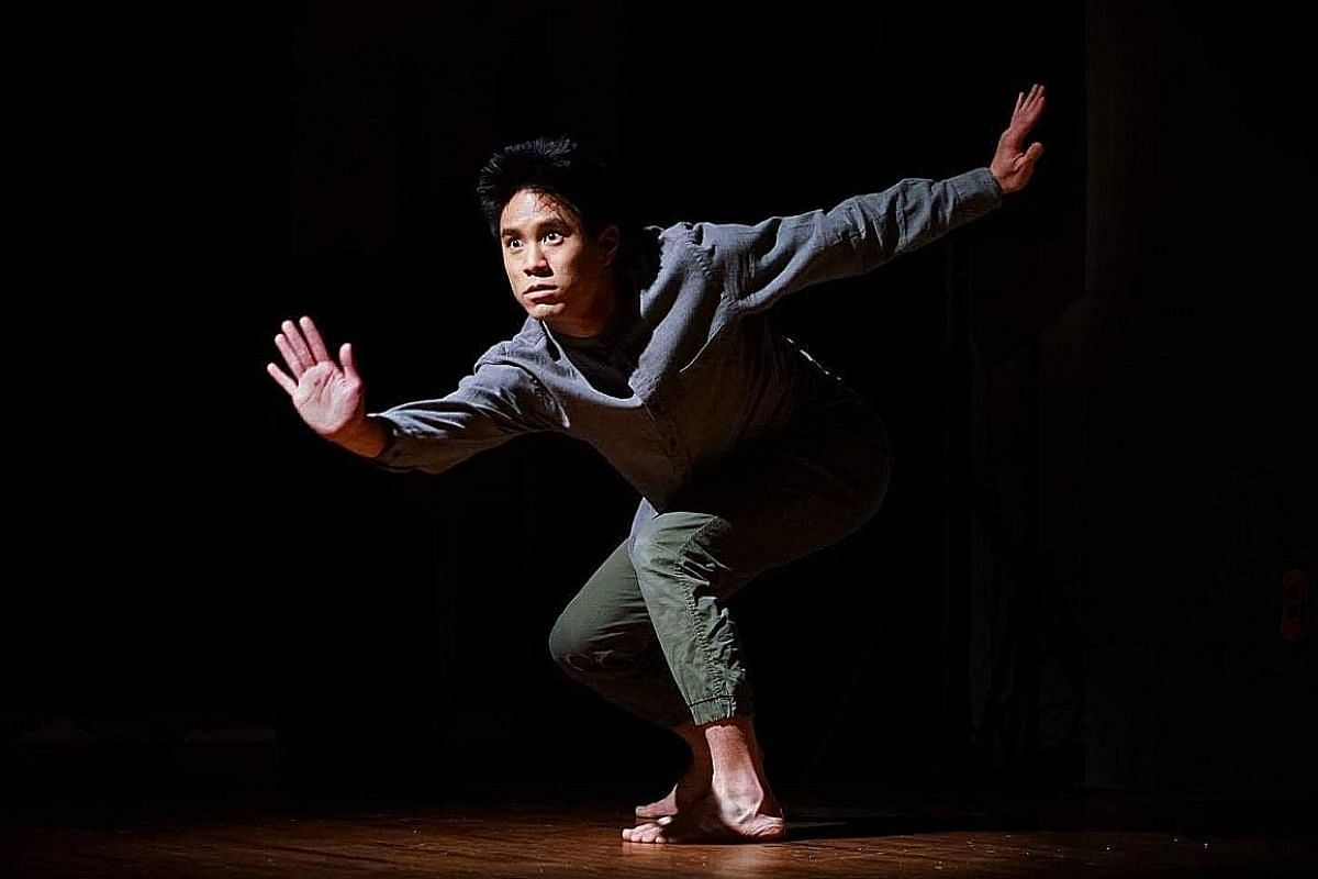 Taiwanese dancer Tom Tsai combines break-dancing and politics in A Fantasy Of Going Home. In Black Velvet, Shamel Pitts and Mirelle Martins dance with shorn heads, clad only in loincloths, with golden-bronze body paint.