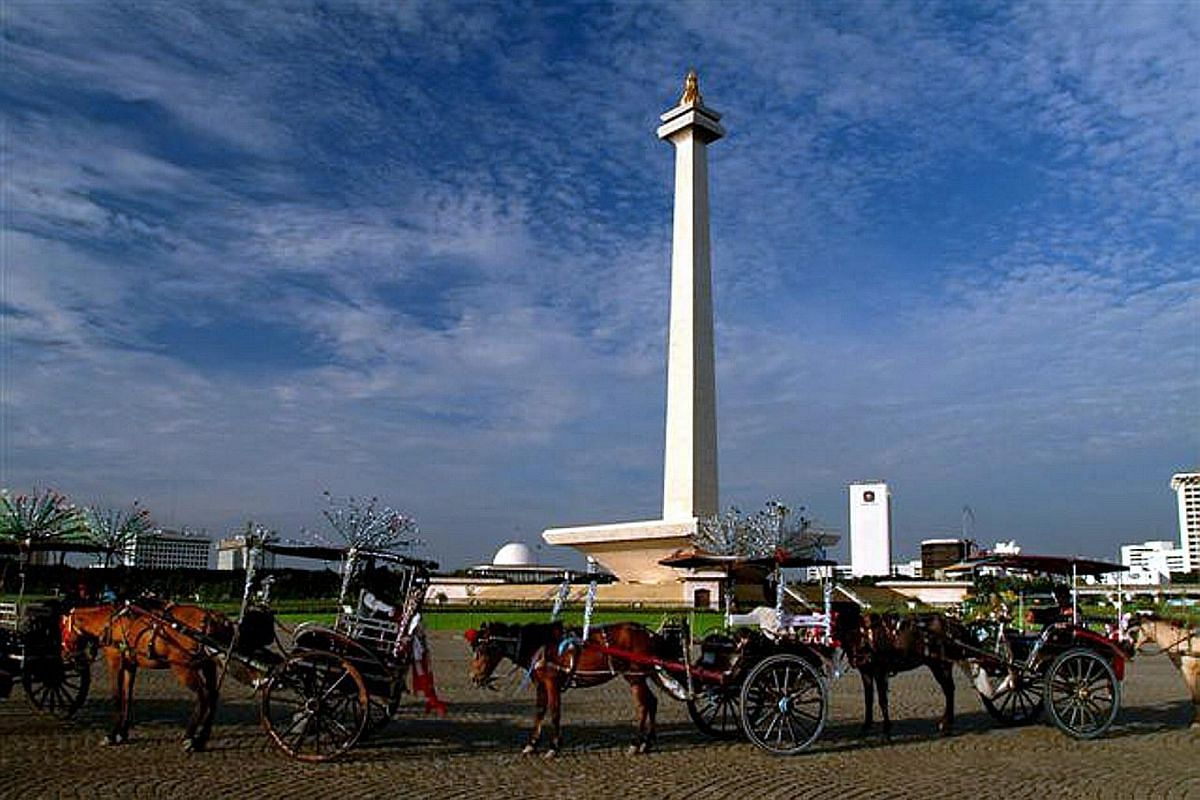 Monas, the national monument in the centre of Merdeka Square, is a 132m-tall tower with a viewing platform that offers a view of the city.