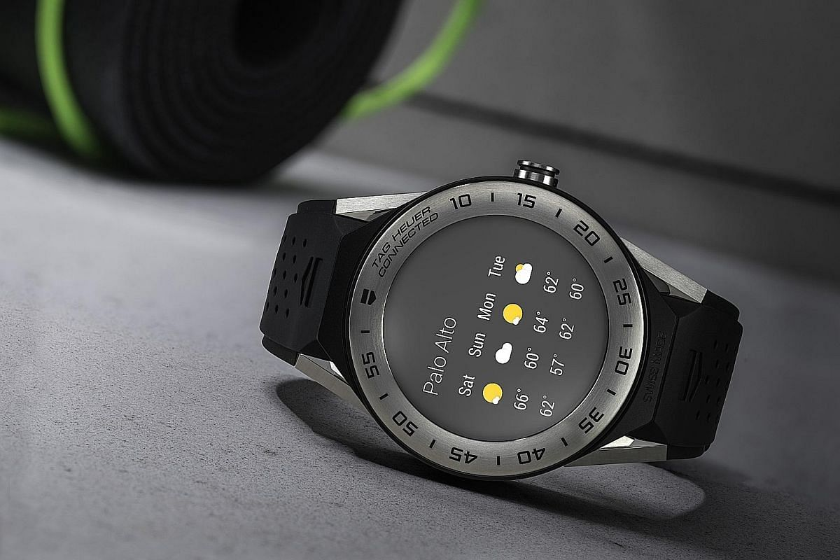 Mix and match the strap, lug and bezel of the Tag Heuer's Connected Modular 41 (above) for a bespoke smartwatch.