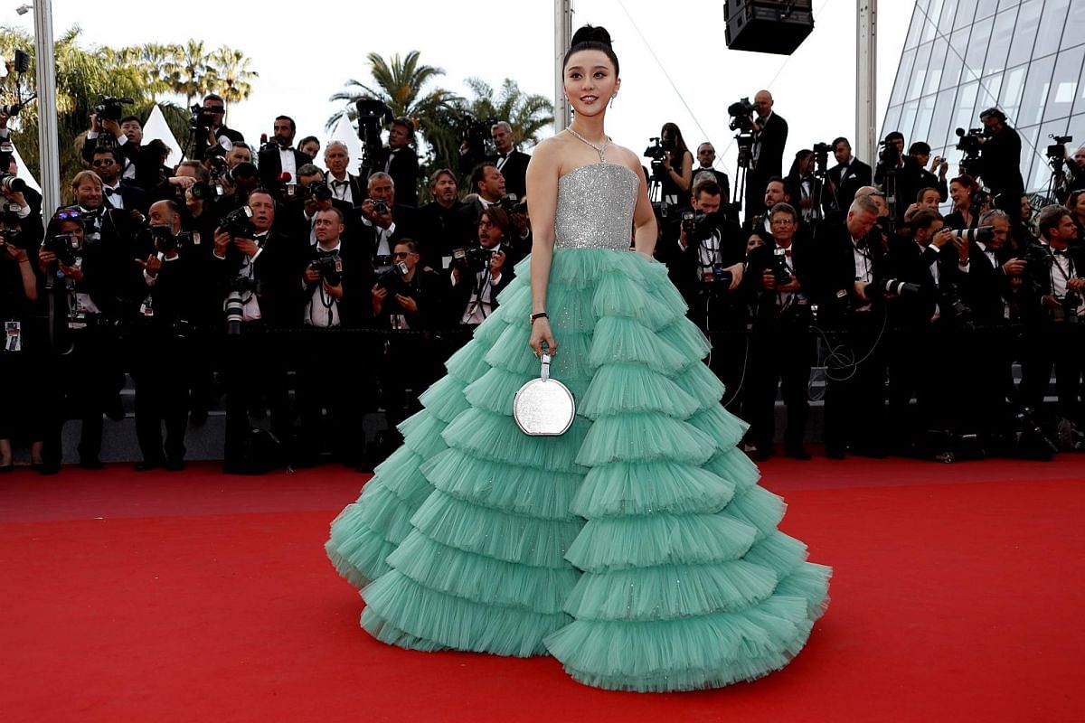 Fan Bingbing arrives for the screening of Everybody Knows (Todos Lo Saben) and the opening ceremony of the 71st annual Cannes Film Festival in Cannes, France, on May 8, 2018.