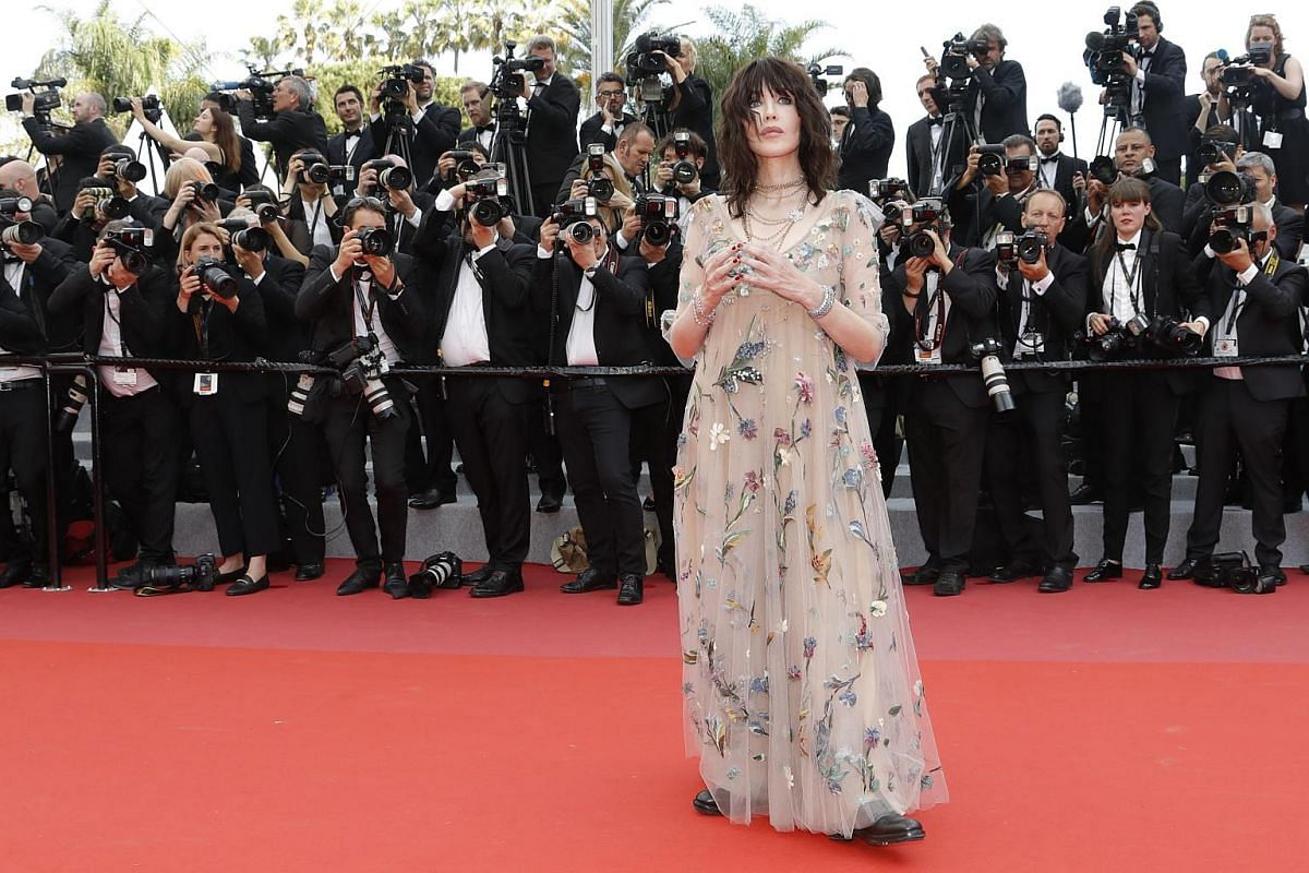 Isabelle Adjani arrives for the screening of Everybody Knows (Todos Lo Saben) and the opening ceremony of the 71st annual Cannes Film Festival in Cannes, France, on May 8, 2018.