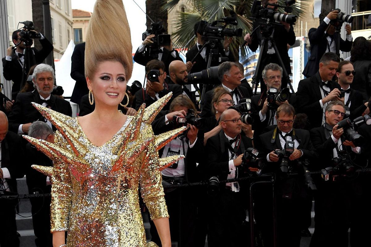 Elena Lenina arrives for the screening of Everybody Knows (Todos Lo Saben) and the opening ceremony of the 71st annual Cannes Film Festival in Cannes, France, on May 8, 2018.