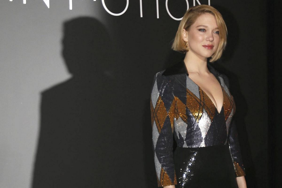 At the Women In Motion Honor Awards on May 13, 2018, Seydoux opted for a harlequin print and retained sequins and a short length for glamour.
