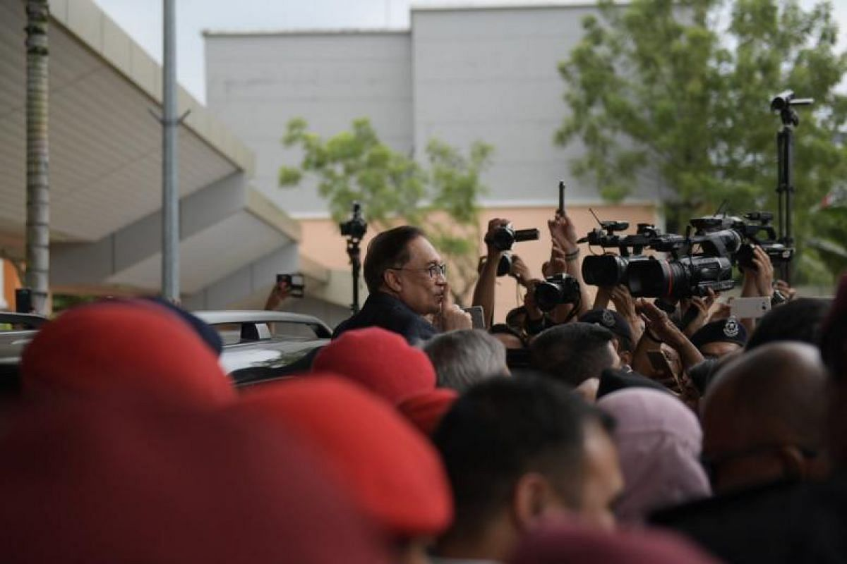 Mr Anwar, who was serving a second prison term for sodomy before today's release, has always maintained the charges against him were part of a conspiracy to end his political career.