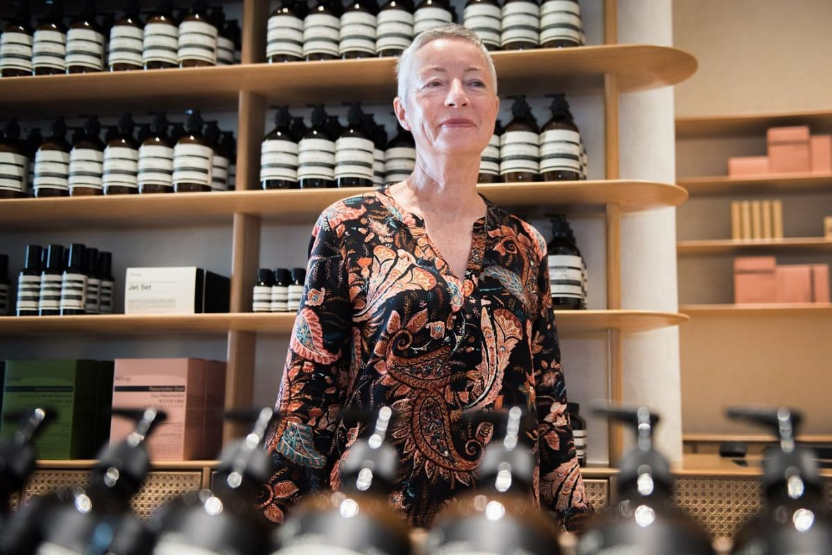 Aesop's co-founder and chief customer officer Suzanne Santos says the brand will continue to expand in Singapore.