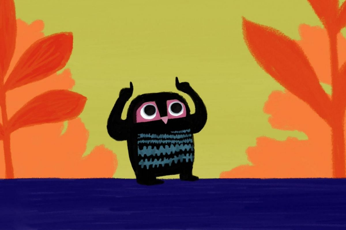 The animation A Bit Lost, directed by Helene Ducrocq, is suitable for those aged two to six.