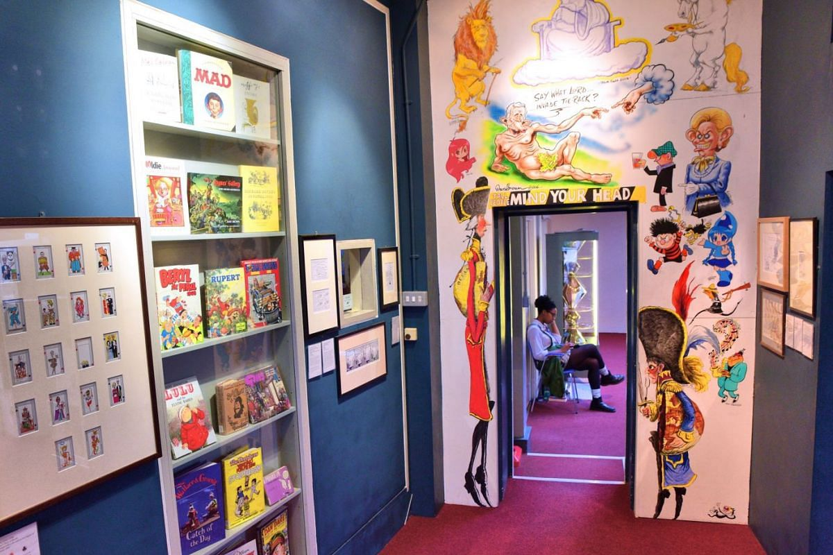London's The Cartoon Museum (above) documents the long history of the artform in Britain.