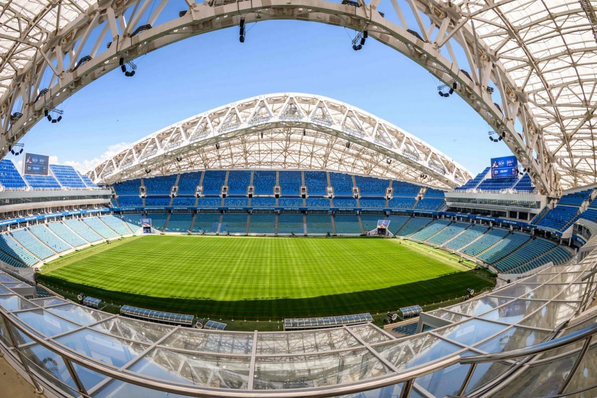In Pictures The 12 Stadiums In Russia Hosting World Cup Action