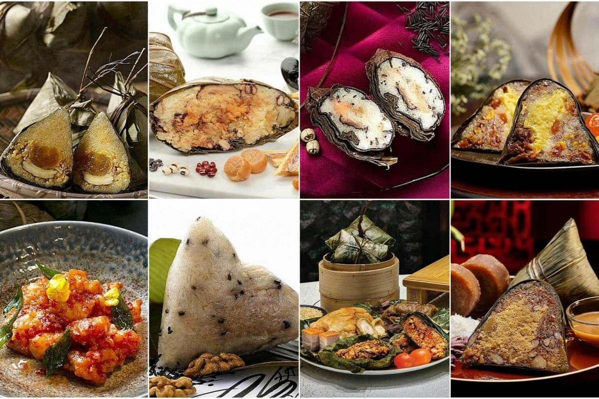 There are plenty of new choices of dumplings this year - from seafood options such as unagi, cod fish and sambal prawns, to spicy mala pork and even dessert offerings.