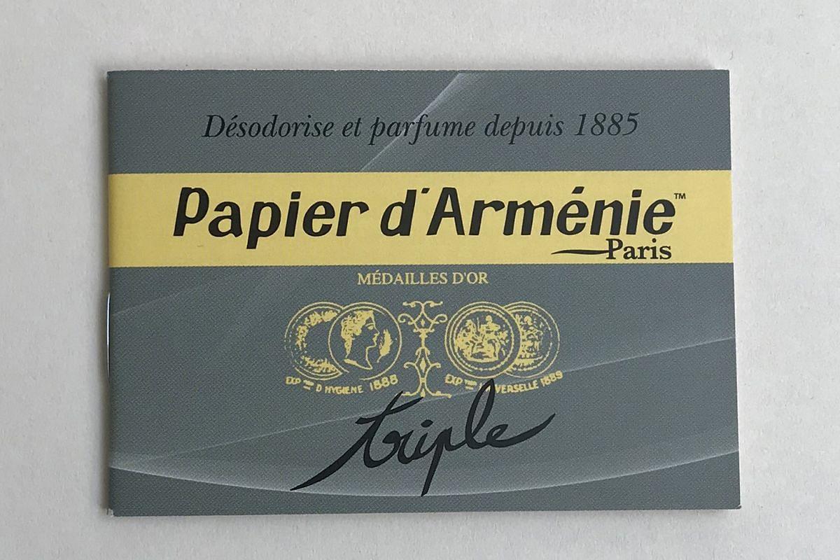 PAPIER D'ARMENIE INCENSE PAPER
