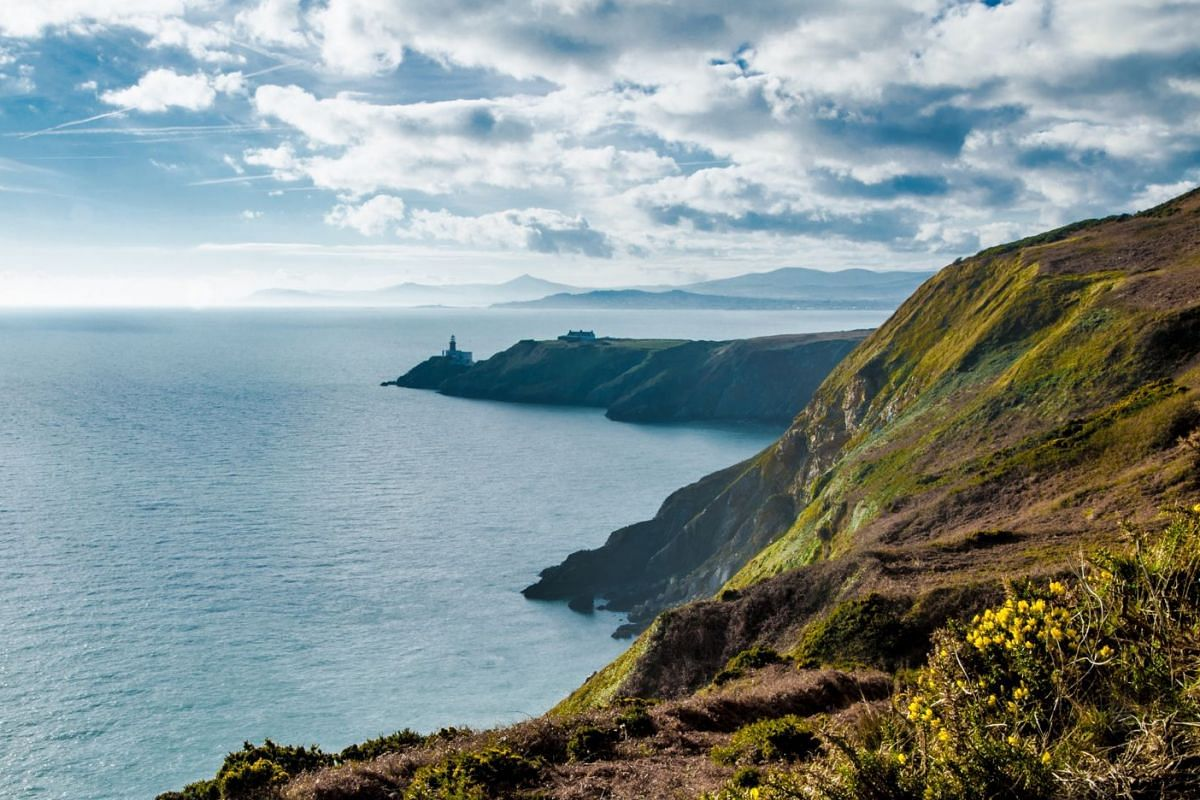 Howth, an idyllic fishing village in the outer suburb of Dublin, offers sweeping sea views and fresh seafood.