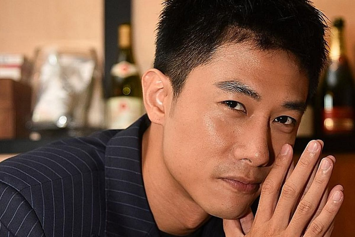 Desmond Tan hopes to become a method actor in the vein of his acting idols, American Christian Bale and Briton Daniel Day-Lewis.