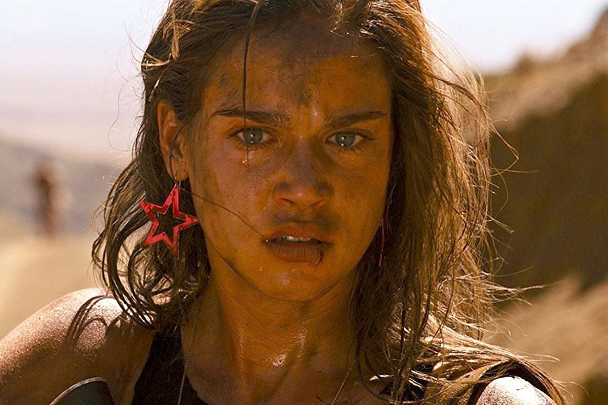 Matilda Lutz in Revenge, which shows that even ''bad'' girls need to be avenged.