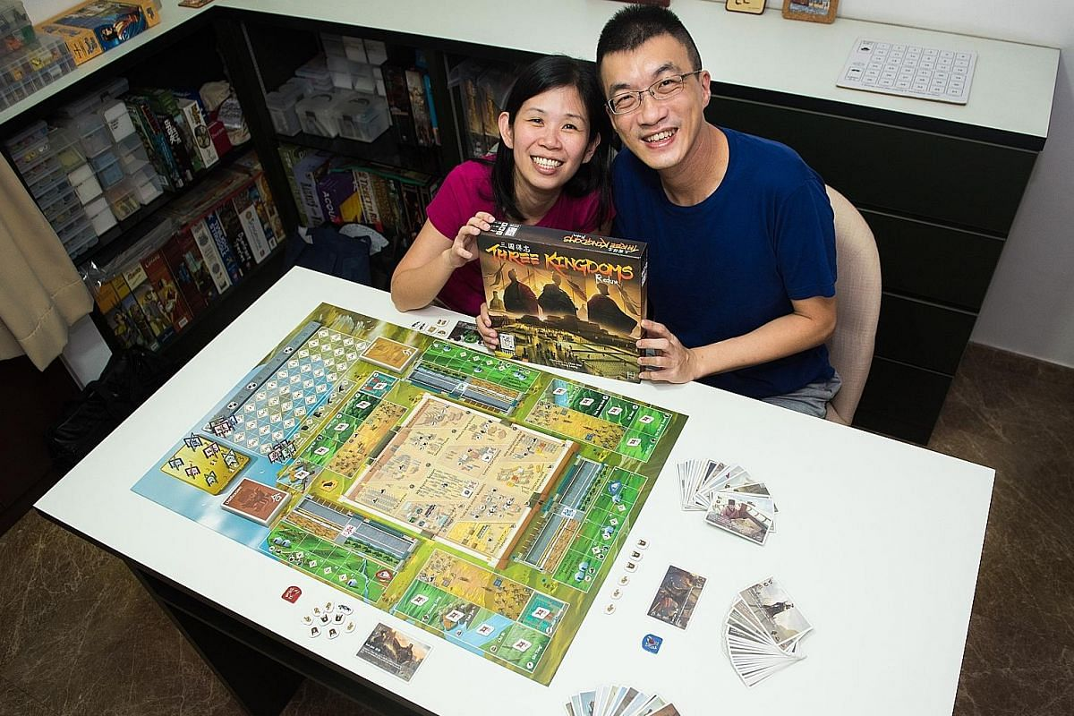 Starting Player co-founders Yeo Keng Leong and Christina Ng designed Three Kingdoms Redux, a three-person game inspired by the division of China into the states of Wei, Shu and Wu between 220AD and 280AD.