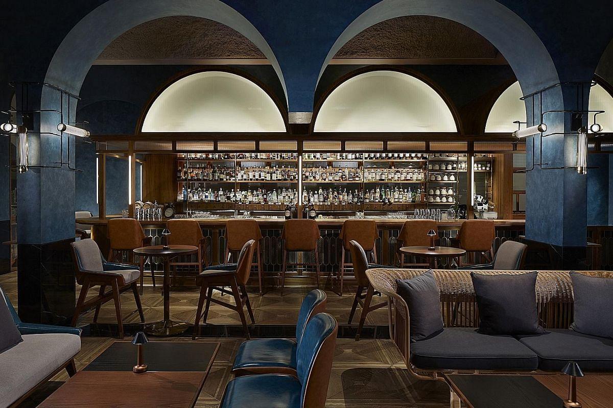 The Shangri-La's Origin Bar (Lobby level, Tower Wing, Shangri-La Hotel Singapore, 22 Orange Grove Road) is a new entry to the bar scene.