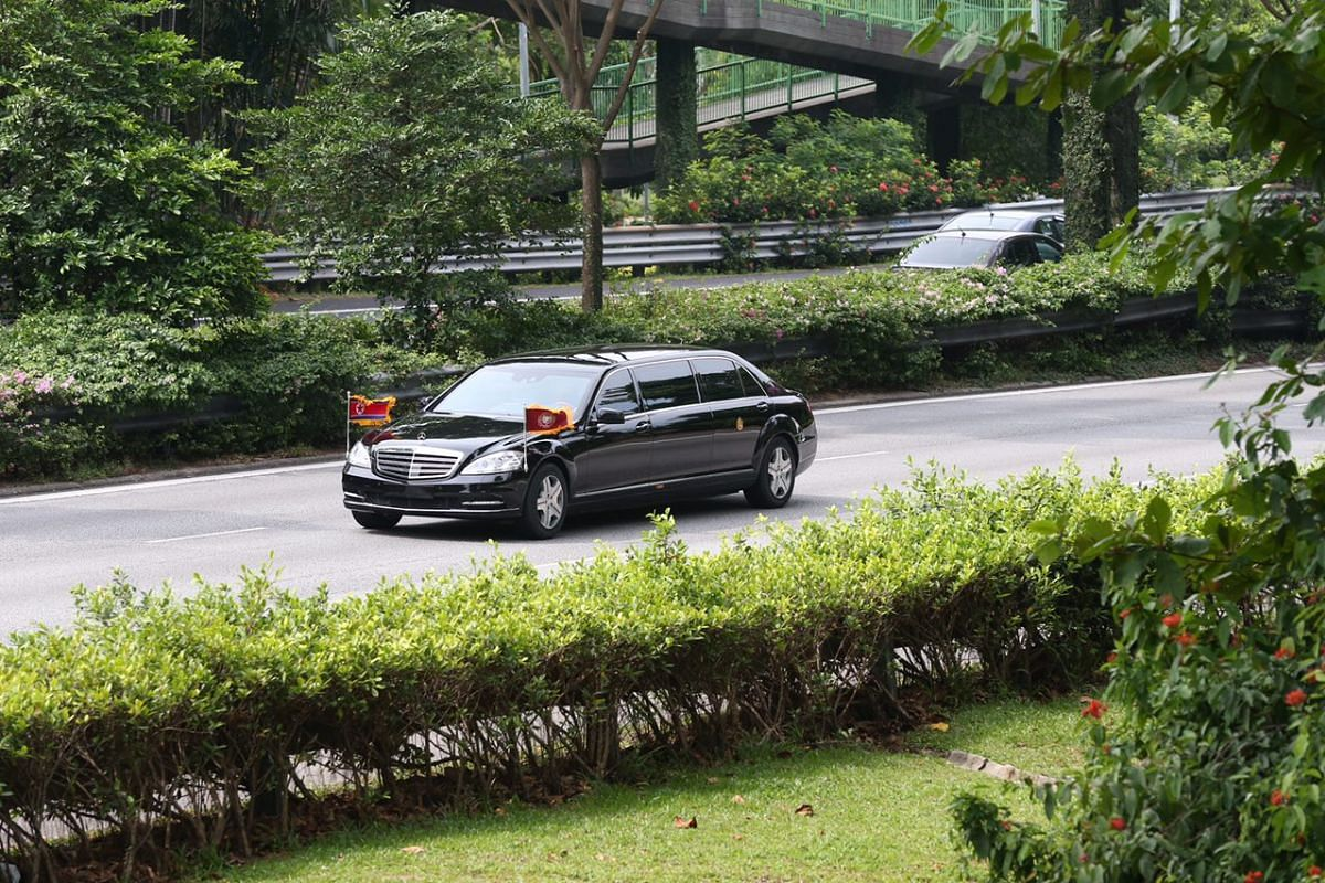 A closer look at the vehicle Mr Kim is believed to be in along the PIE near Bedok.