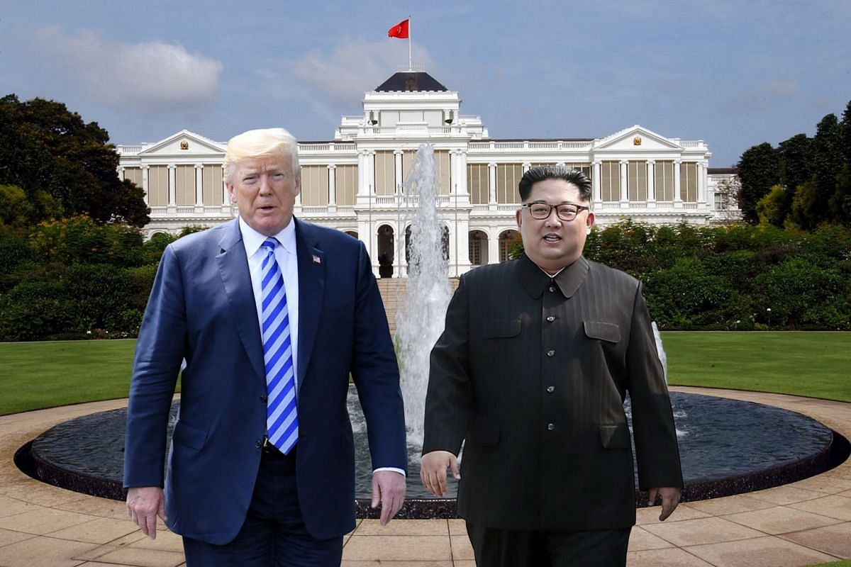 One for the album: Will United States President Donald Trump and North Korean leader Kim Jong Un take a photograph together at the Istana?