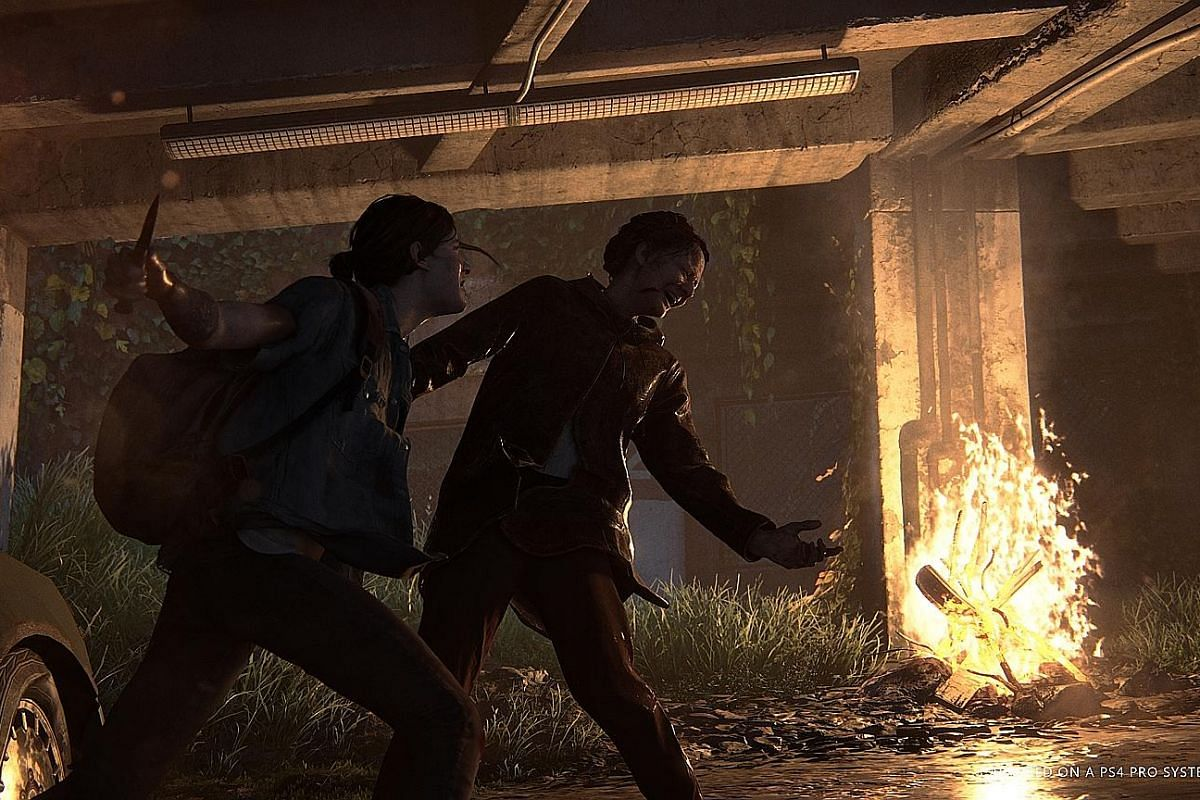The first game's female protagonist, Ellie, takes the lead in the zombie-infested, post-apocalyptic world of The Last Of Us Part II.