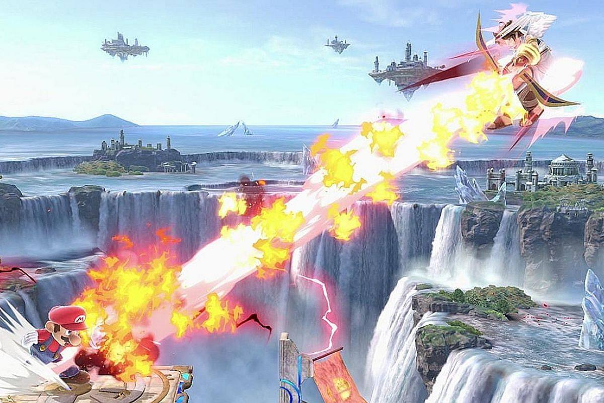 Super Smash Bros Ultimate features the biggest cast in the series, with more than 60 playable characters from a multitude of games.