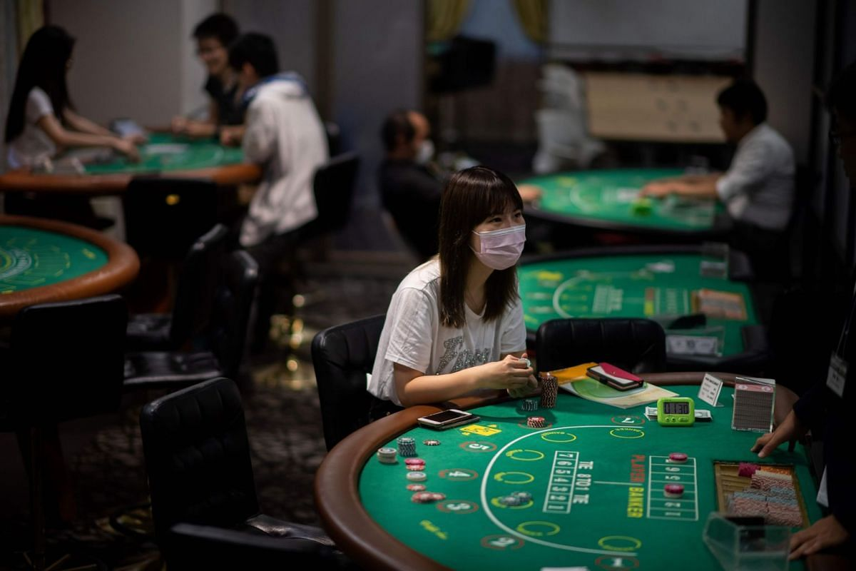 Students practicing at the Japan Casino School in Tokyo, on June 6, 2018. Japan has long been viewed as the Holy Grail of gaming in Asia due to a wealthy population, proximity to China and appetite for other forms of legal gambling, including horse r