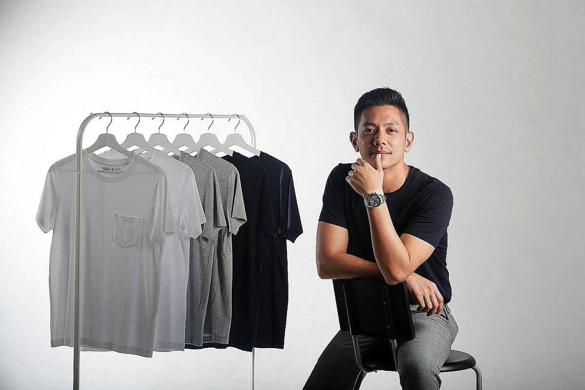 Ms Terie Sim, founder of sustainable lingerie line Terie, makes bras with organic, eco-friendly bamboo material. Mr Vincent Ooi's Source Collections sells affordable T-shirts made from sustainable fabrics such as Tencel.