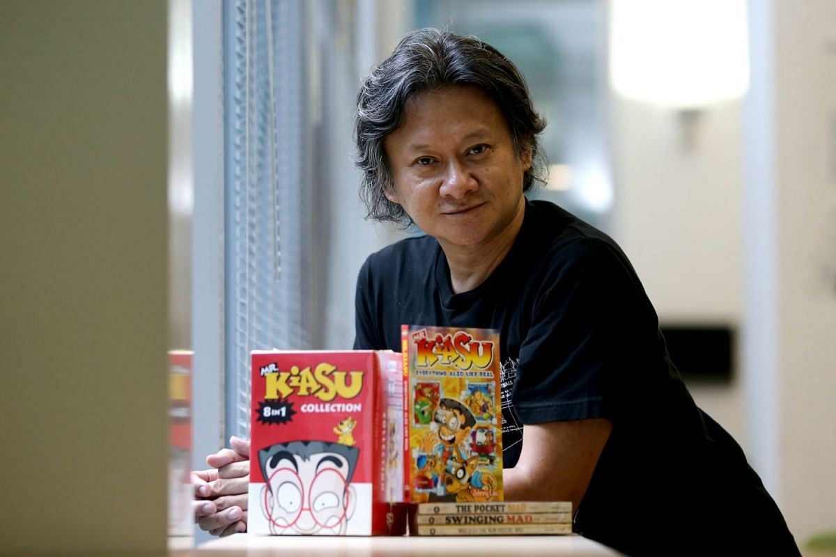 Johnny Lau grew up completely at home with English and Mandarin, and loved both Asian and American comics.