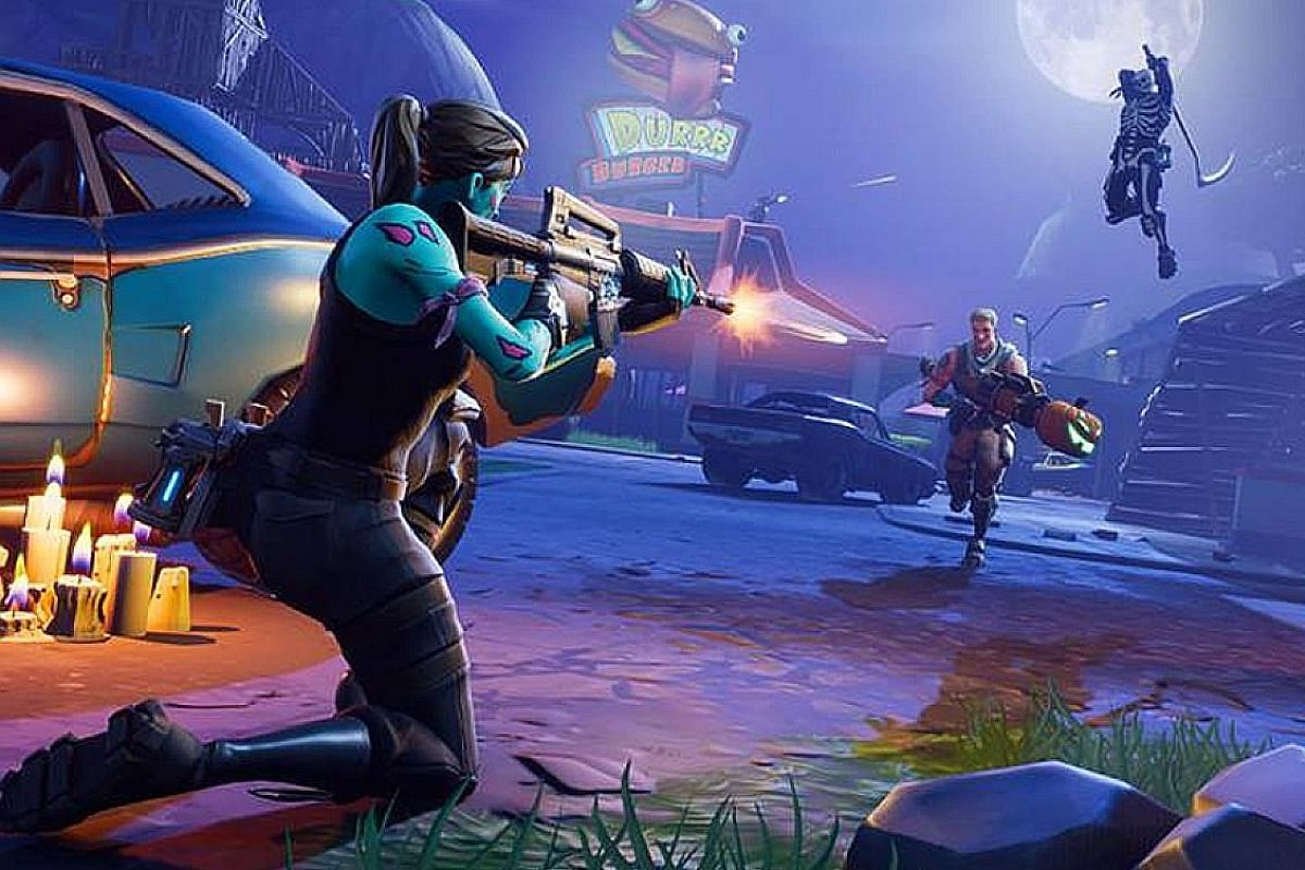 In Fortnite, players are able to scavenge materials to build structures that can give them massive advantages.