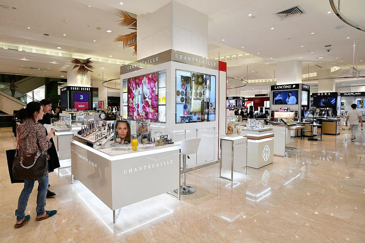 Among the new beauty brands at Takashimaya department store this year is luxury French label Chantecaille.