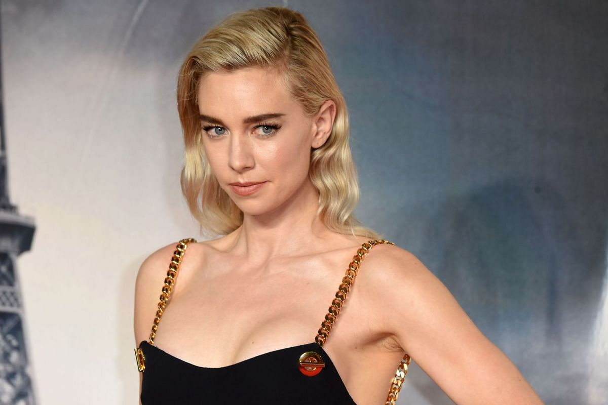 Actress Vanessa Kirby posing for a picture at the premiere of the film in London on July 13, 2018.