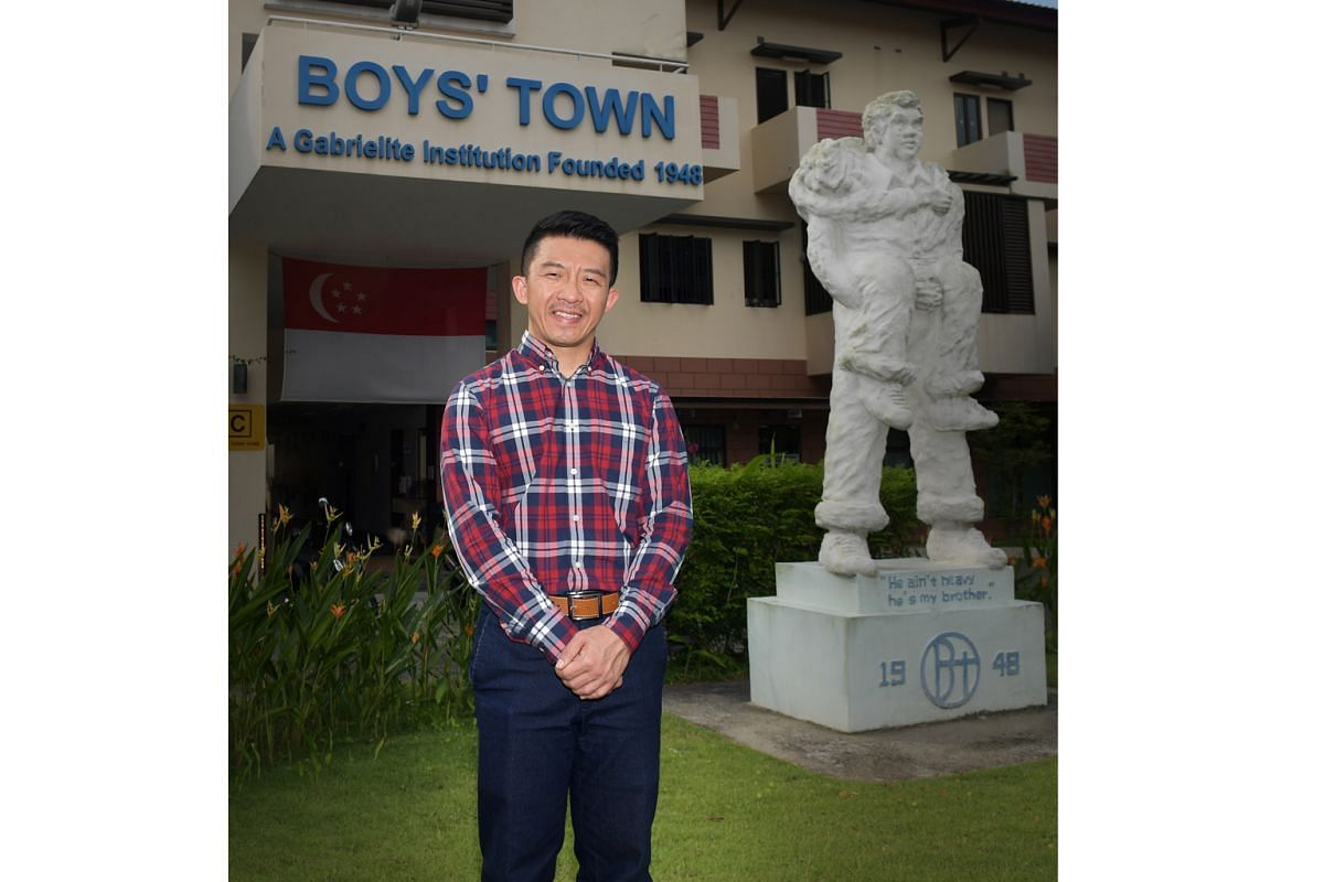 Dr Roland Yeow (above), executive director (designate) of Boys' Town, learnt vocational skills for two years in the early 1990s at the then Boys' Town Vocational Institute, which was part of Boys' Town.