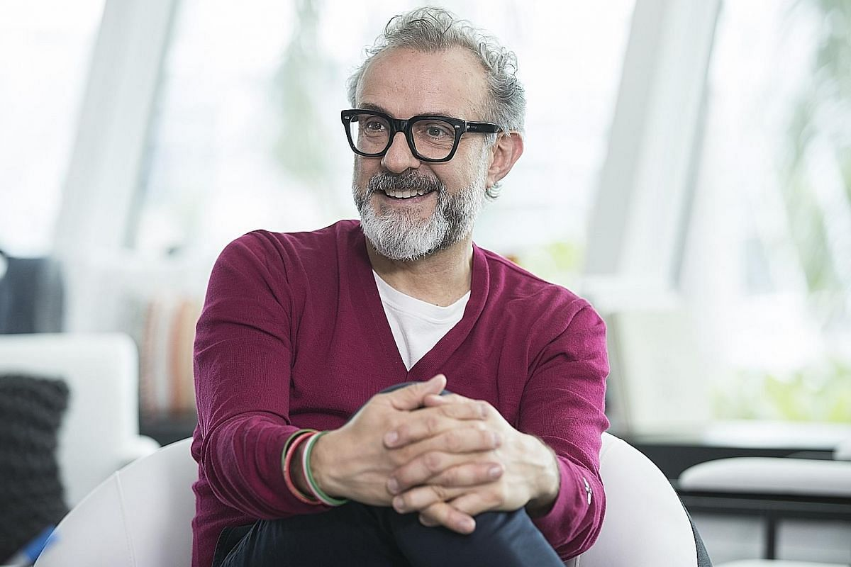 Italian chef Massimo Bottura's three-Michelin-starred Osteria Francescana in Modena, Italy, is ranked No. 1 on The World's 50 Best Restaurants list.