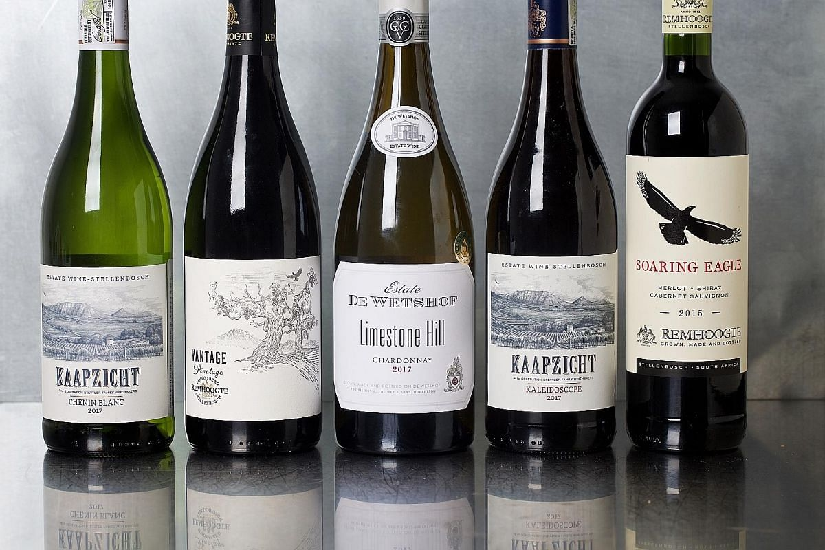 South African wines (left) are quietly drawing interest from wine-lovers around the globe.