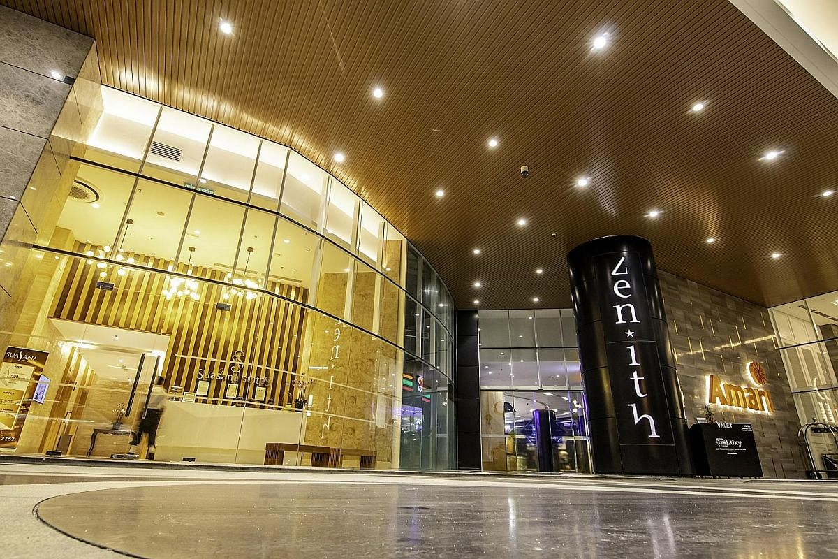 Nearly all the businesses in Zenith Lifestyle Centre are either those already found in Singapore or partially owned by Singaporeans.