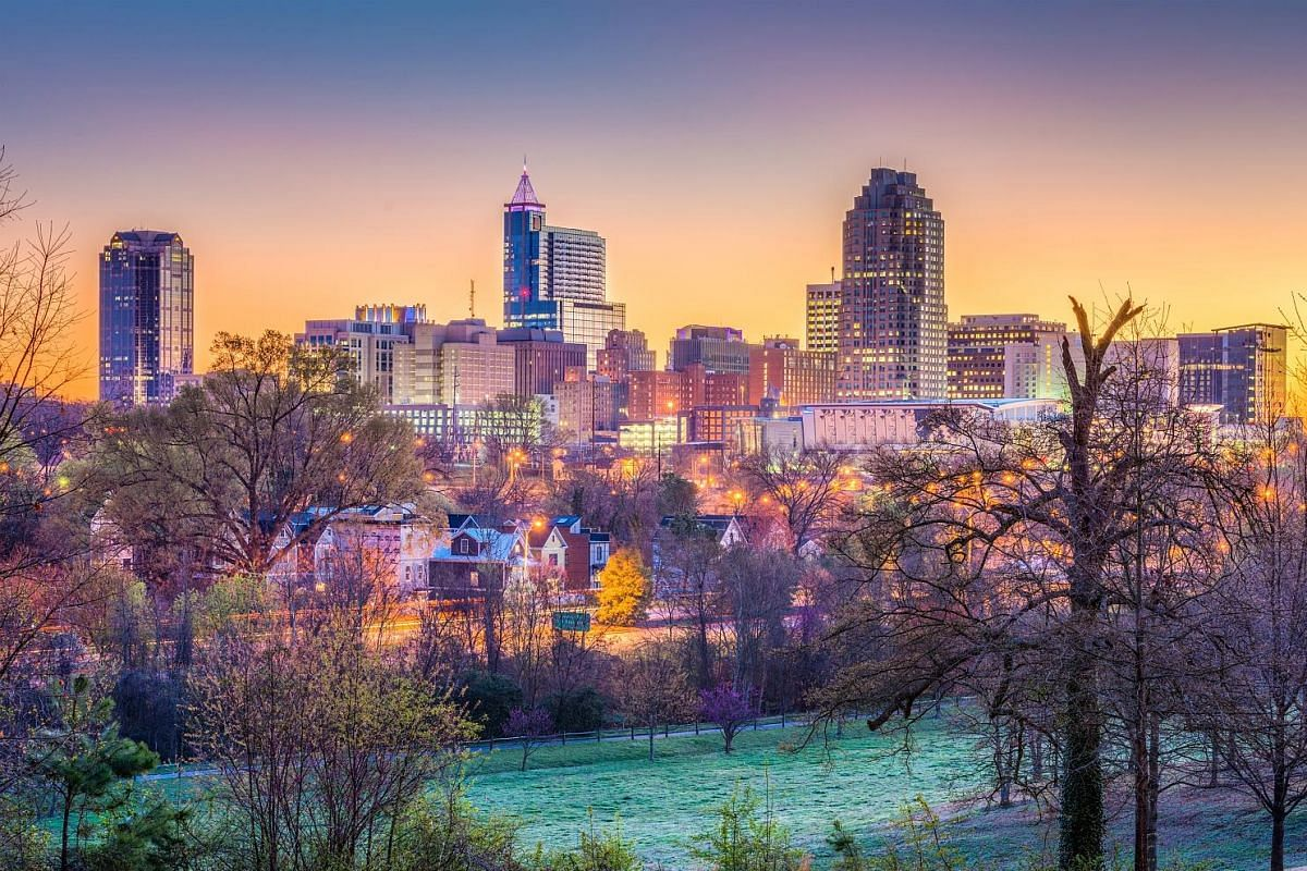 Mrs Alicia Sandve moved to the United States when she married American Michael Sandve five years ago. Raleigh has a good mix of city life, friendly neighbourhoods and beautiful outdoors.