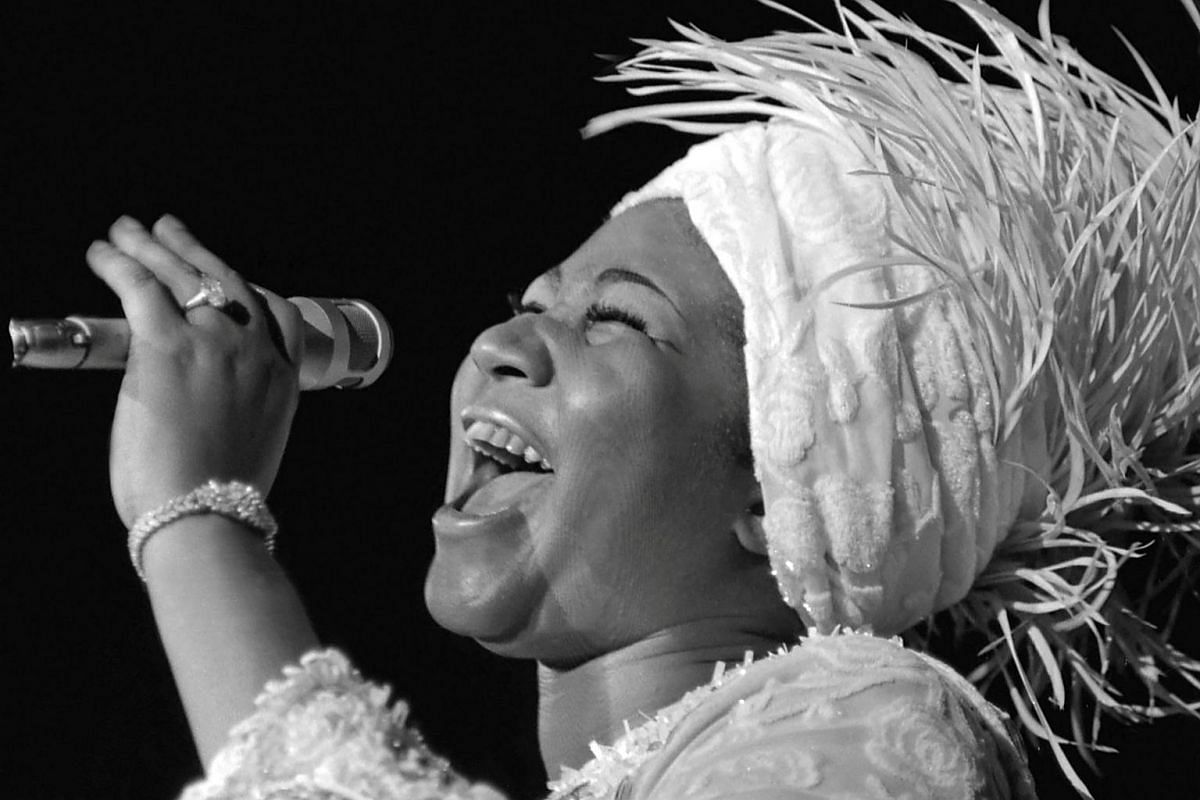 Aretha Franklin opens at Caesars Palace in Las Vegas, Nevada, US, on June 13, 1969.