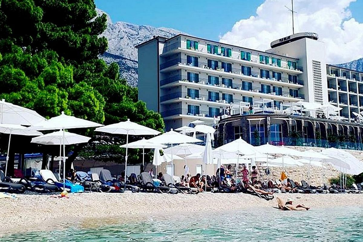 Tui is reinventing the package holiday with new hotels, including the Tui Blue Jadran (left) in Tucepi, Croatia, with a sensational beachside setting.