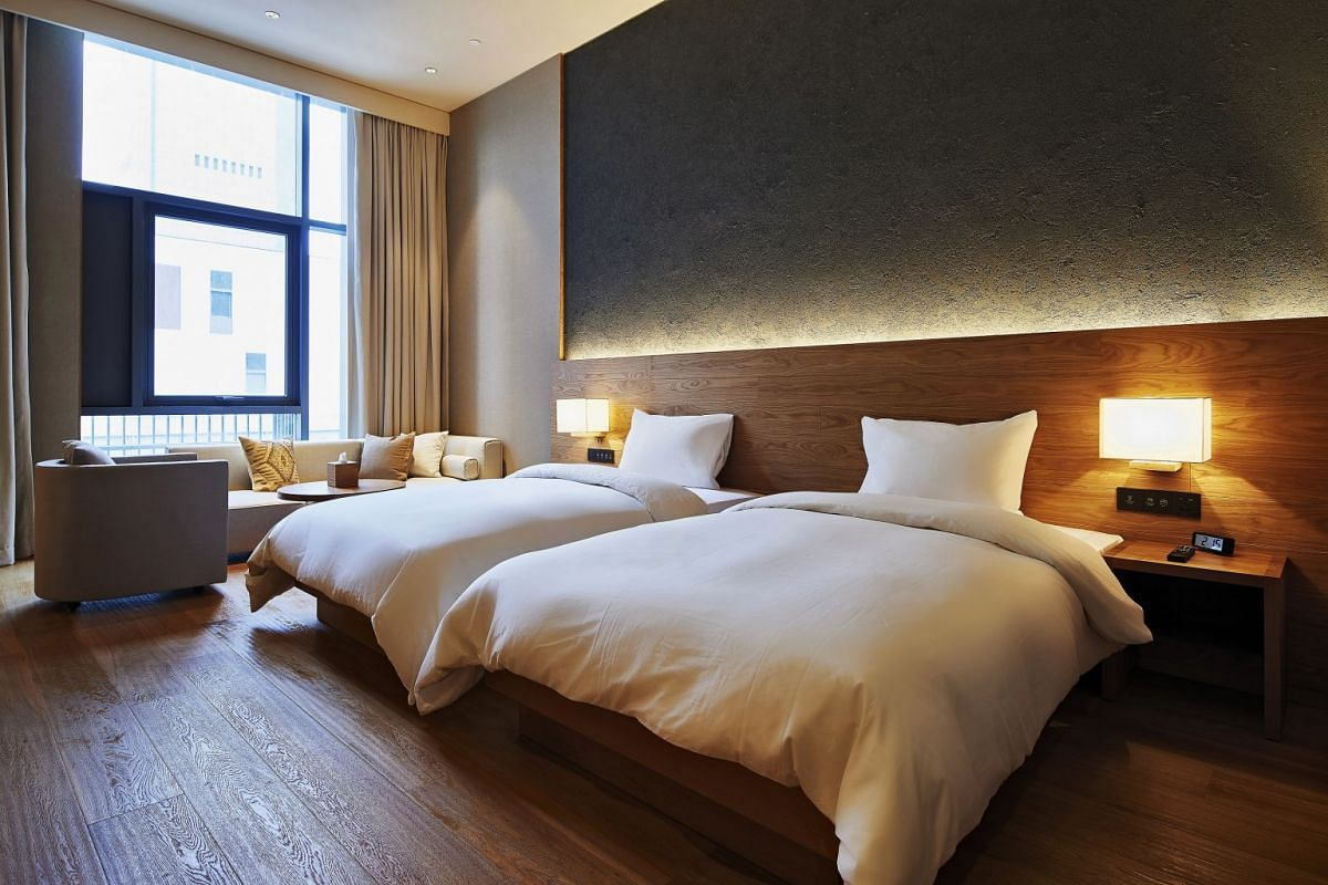 Japanese lifestyle retailer Muji has built its first hotels in Shenzhen (above) and Beijing.
