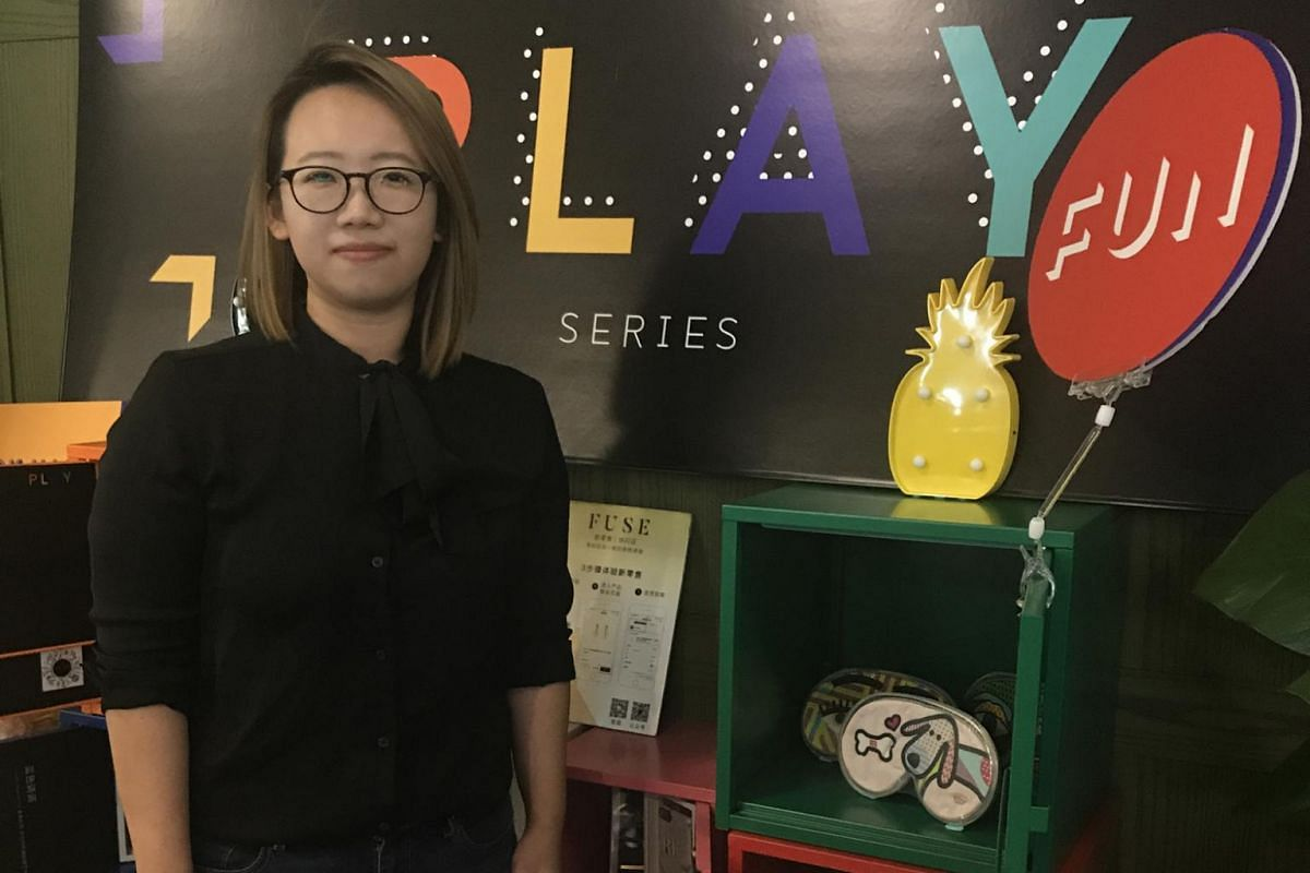 Singaporean Emmy Teo runs retail tech start-up Fuse, a series of pop-up stores in malls, offices, hotels and fitness gyms that display products which shoppers can touch, feel and try before placing their orders via an online shopping app.
