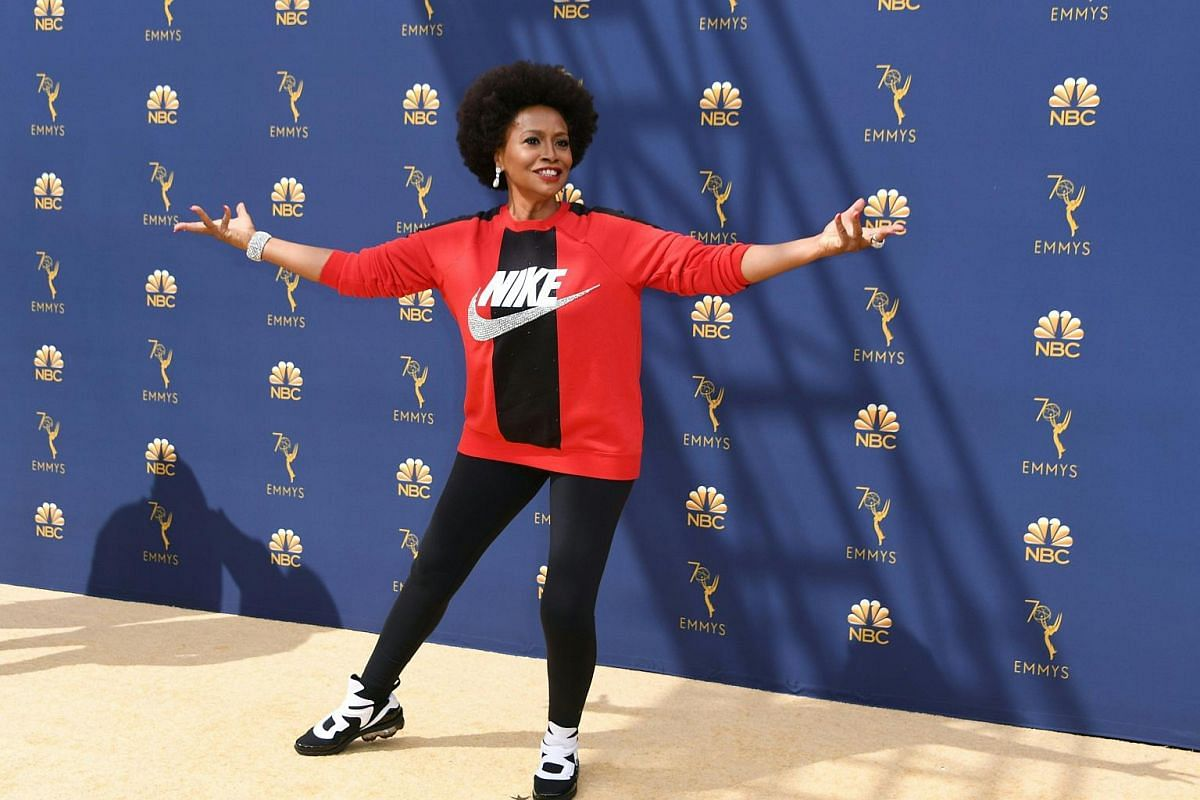 Jennifer Lewis arrives for the 70th Emmy Awards at the Microsoft Theatre in Los Angeles on Sept 17, 2018.
