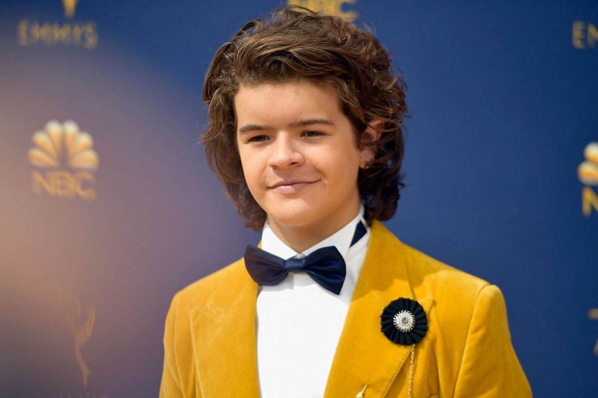 Gaten Matarazzo attends the 70th Emmy Awards at Microsoft Theater on Sept 17, 2018 in Los Angeles.