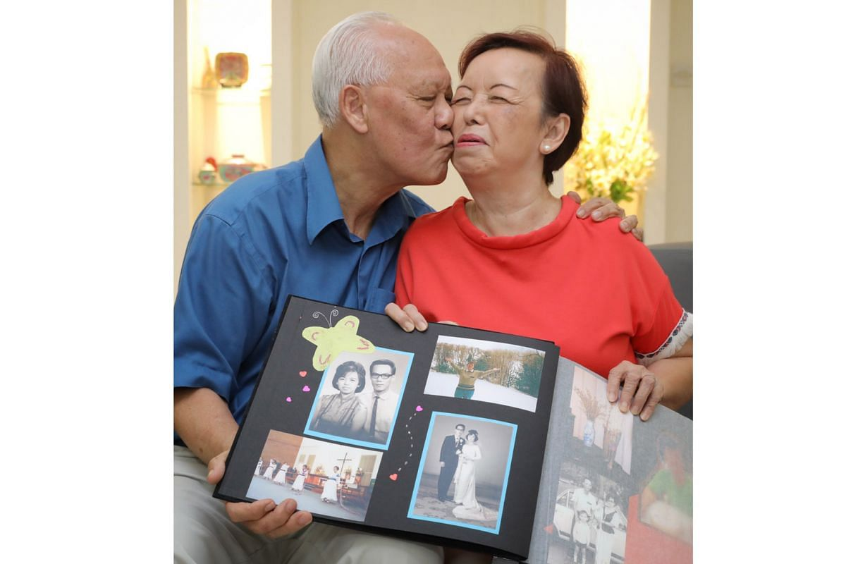 Little gestures count for Mr Alfred Foong, 78, and his wife Madam Rosalind Cheong, 77. They have been married for 51 years.