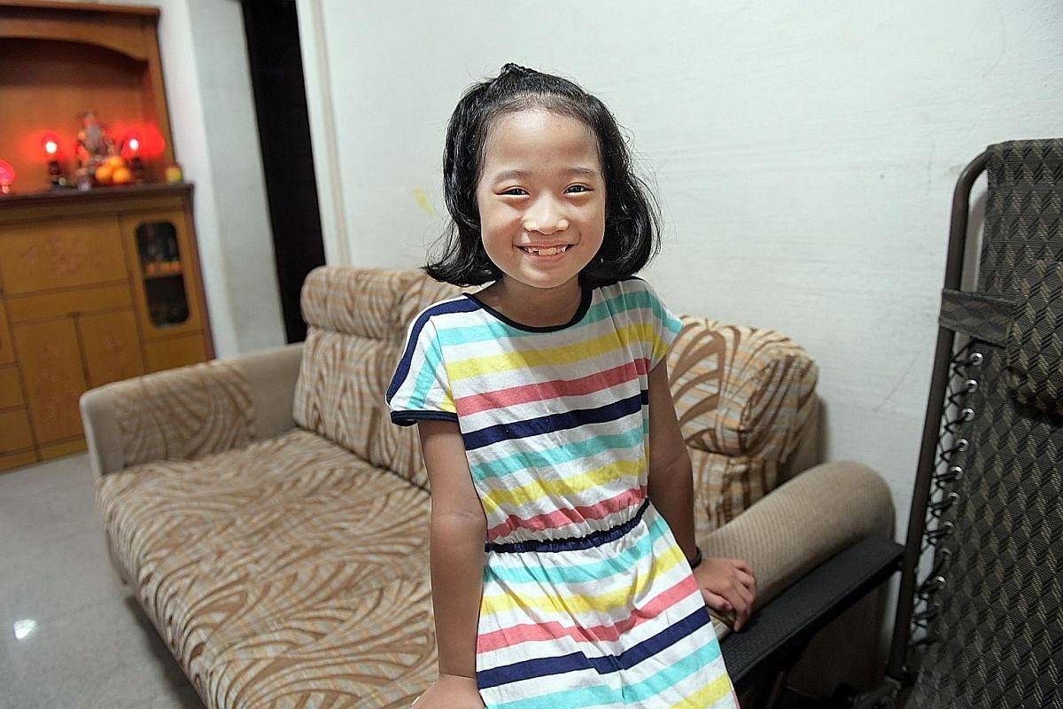 When Zen On showed symptoms of juvenile dermatomyositis, the skin rash was thought to be eczema, the reluctance to walk seen as a sign of laziness or fatigue and the frequent falls dismissed as clumsiness. She is now seven years old and almost fully